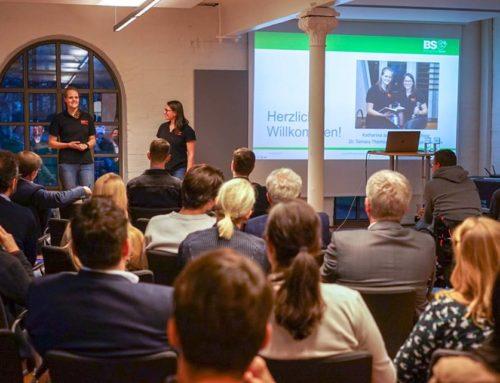 """""""Gewonnen wird zwischen den Ohren"""" – Vom Spitzensport lernen. Ein Vortrag mit Katharina Jantz und dem BildungsStudioGerlof bei den Unternehmern Hildesheim"""