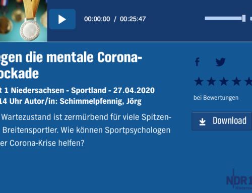 Warten auf die Normalität –Ein Interview mit dem NDR zur aktuellen Lage im Breiten- und Spitzensport