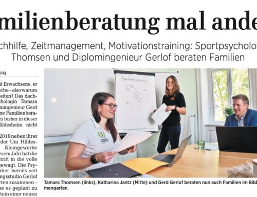 Coaching und Beratung für die ganze Familie –eine Kooperation mit dem Bildungsstudio Gerlof