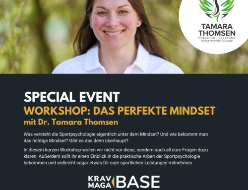 Das perfekte Mindset?! Einblicke in die Sportpsychologie in der Krav Maga Base Hildesheim